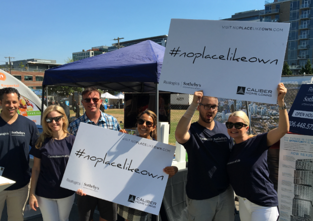 Above: Caliber Home Loans has collaborated with Realogics Sotheby's International Realty on numerous events and promotions like the recent Seattle Street Truck Food Festival hosted in South Lake Union.