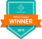 Dr. Kim is a winner of the Opencare Patient's Choice award in 2015.