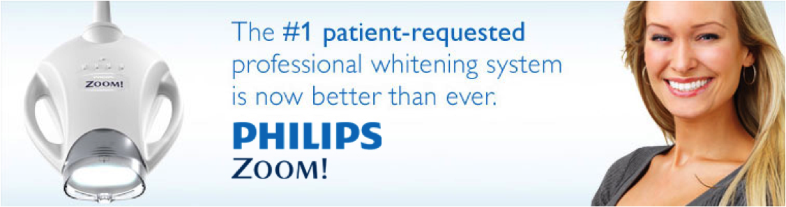 Zoom! whitening is the #1 patient-requested professional whitening system.