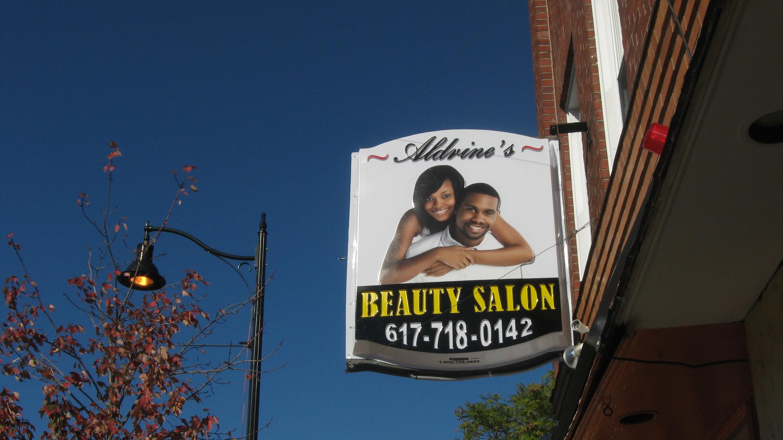 Aldrine Beauty Salon, Somerville, MA