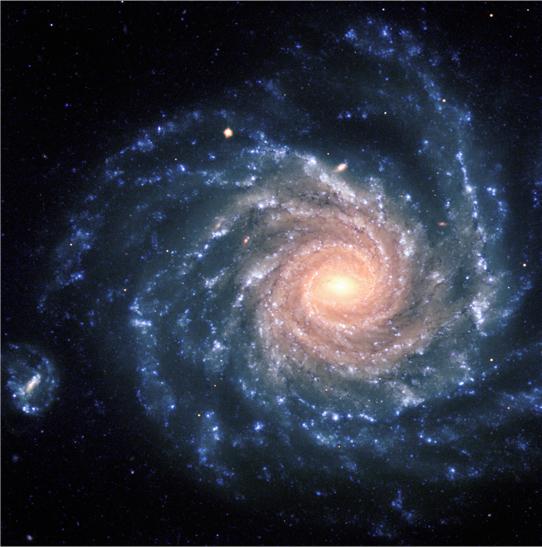 Grand Spiral Galaxy,FORS, 8.2-m VLT Antu, ESO