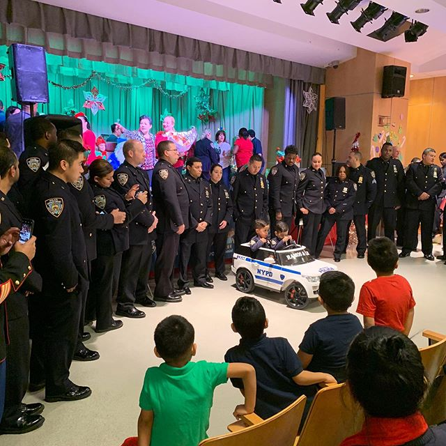 Highlights from the Raphael Ramos foundation event with the NYPD! #thankyou