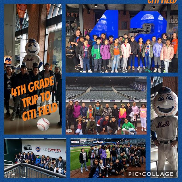 Yesterday our 4th Grade went on a trip to visit Citi Field ⚾️ and today the 5th Grade went to see their writing skills put into a production at The Big Green Theater 🎭!