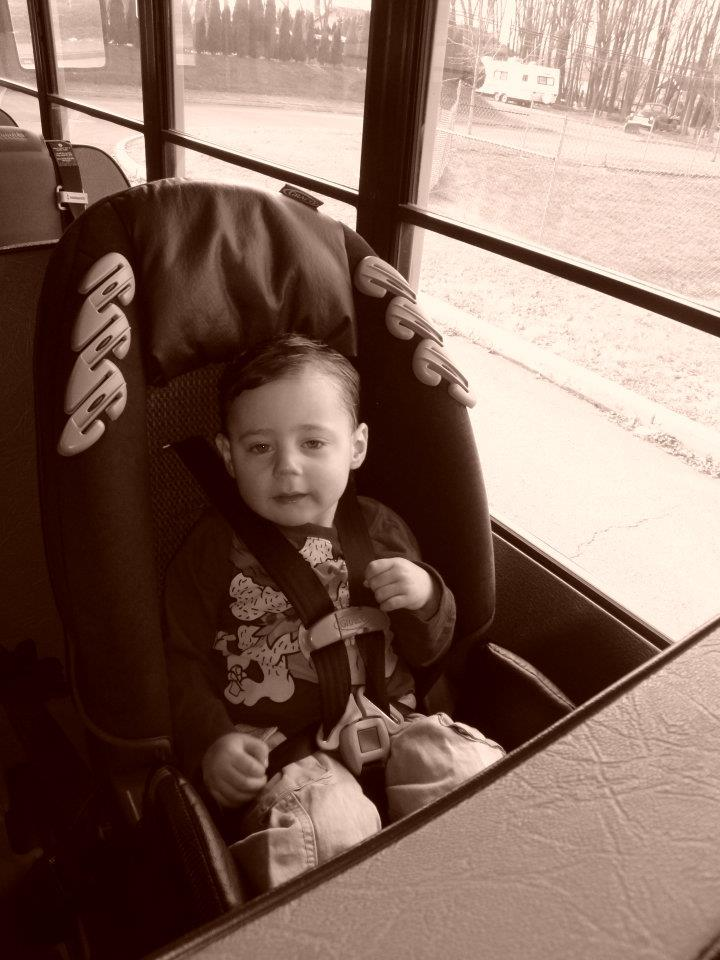 1st day of school and 1st bus ride.