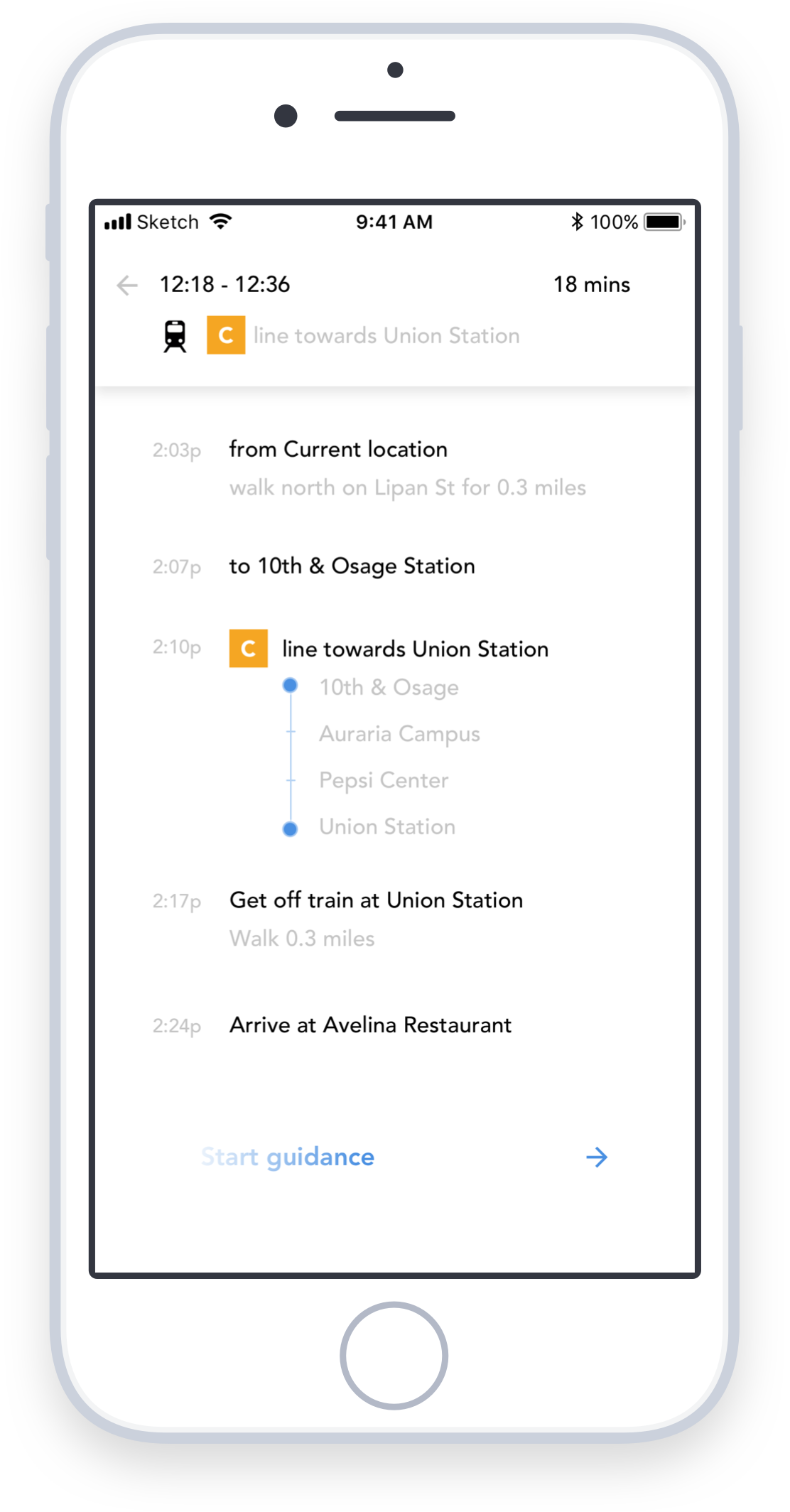 Simple and easy navigation the moment you walk out your door - Routes rarely start and end at transit hubs. Therefore, RTD Beacon doesn't just show the journey on public transit—it helps guide users from wherever they are all the way to their final destination is.