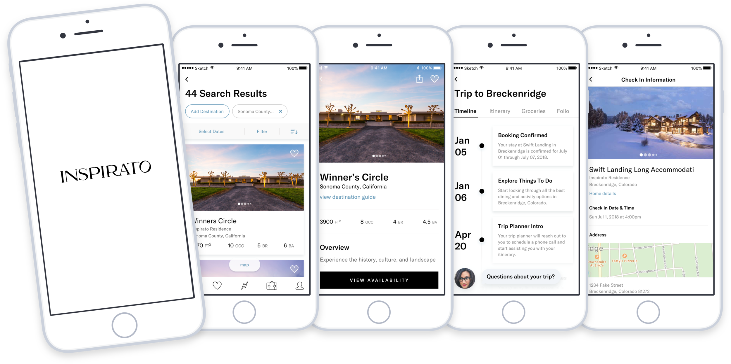 Inspirato iOS App Case Study -