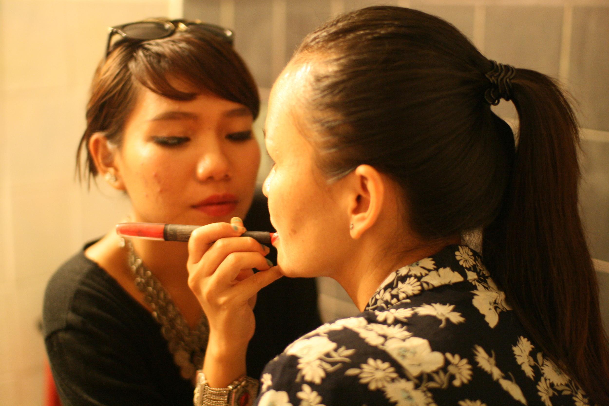 Self-CareRitual Adornment: Black or Red Lipstick