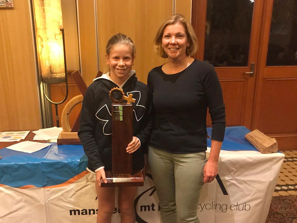 Summer Road Series Womens' Trophy: 1st Talia Appleton, equal 2nd Judi Duke. (Absent, equal 2nd Jodie Batchelor.)
