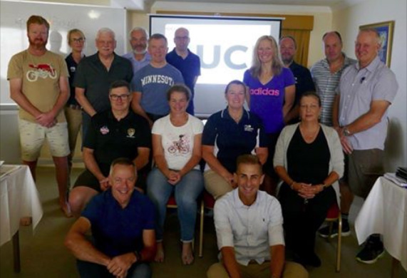 Photo of all the Australian and New Zealand participants and instructors from the ENC course.