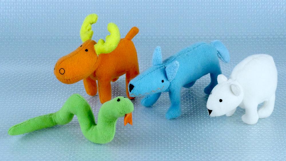 BARNSLIG plush toys