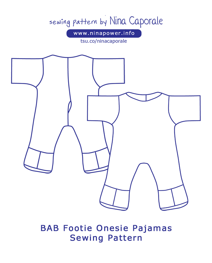 Sewing Patterns from www.ninapower.info
