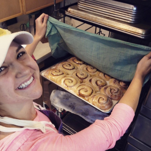 There's nothing better than fresh, warm cinnamon rolls right out of the oven!