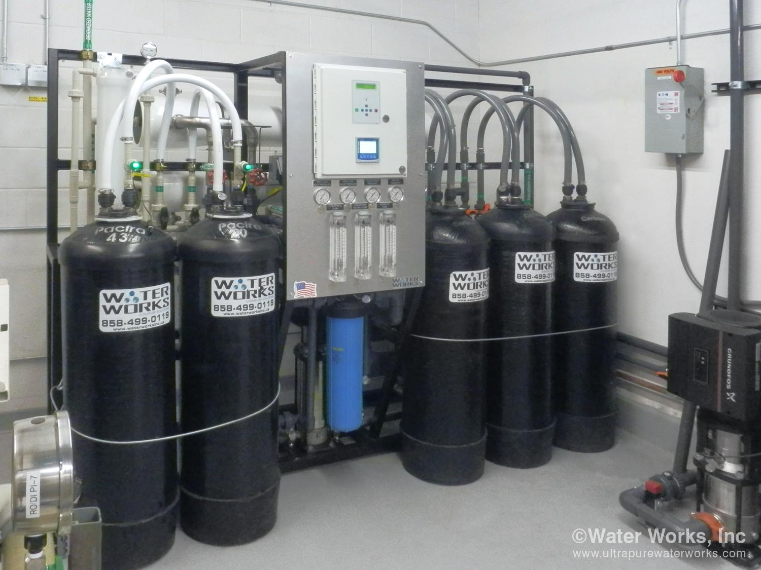 RO/DI system for building 6
