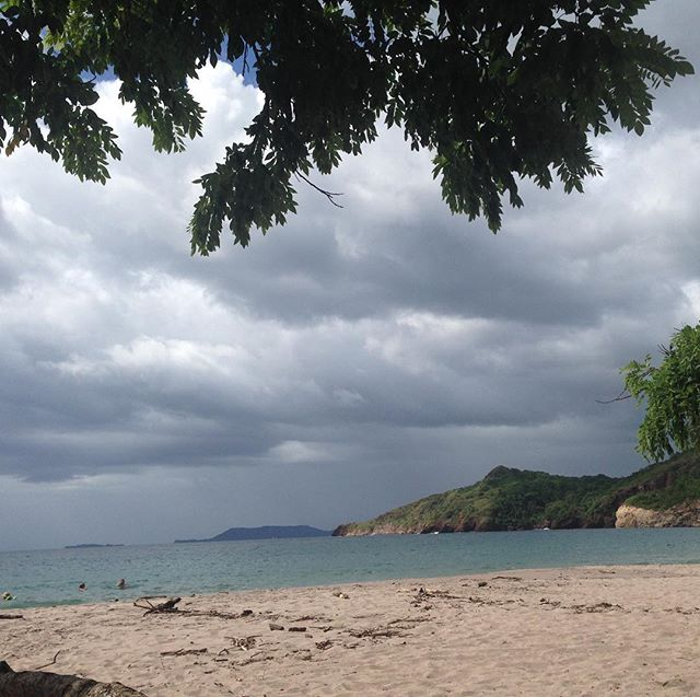 Storm is coming! Travel with www.costaricantrip.com #costaricantrip #beautiful #summertime #visitcostarica #beach #storm