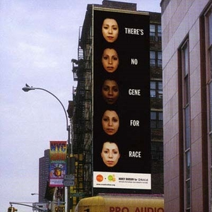 billboard located in new york city in 2000, sponsored by creative time.