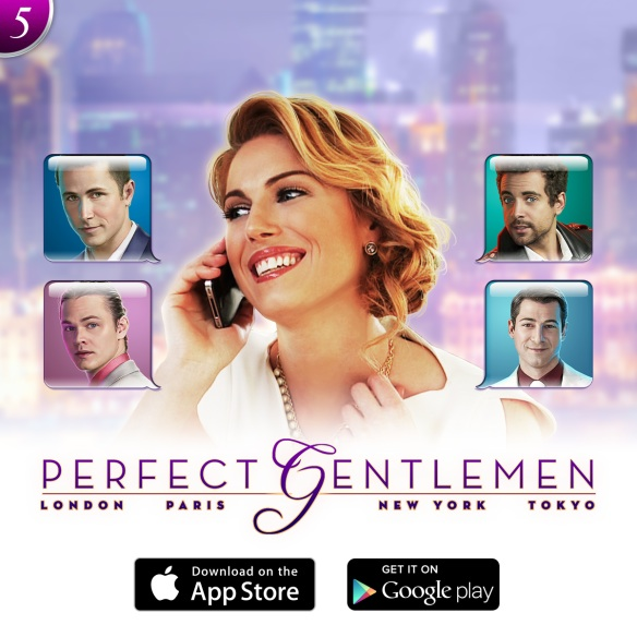 "Sarah's slot machine video game, ""Perfect Gentlemen,"" for High Five Games is finally out. Watch the trailer below, and download it on your computer or mobile device today!"
