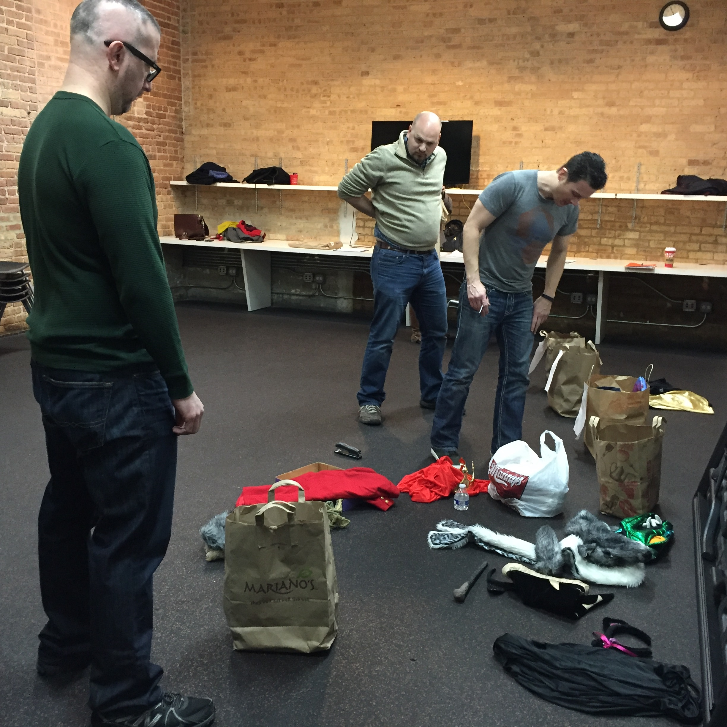 Setting up Costumes