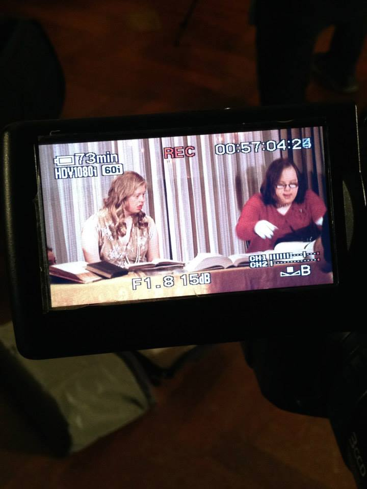 on camera at Newberry Library.jpg