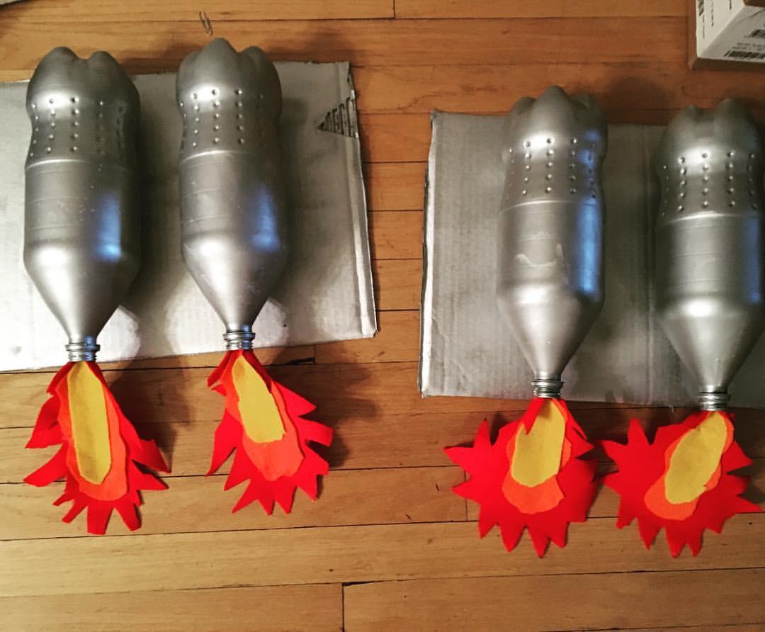 DIY Jetpacks, courtesy of Margaret.