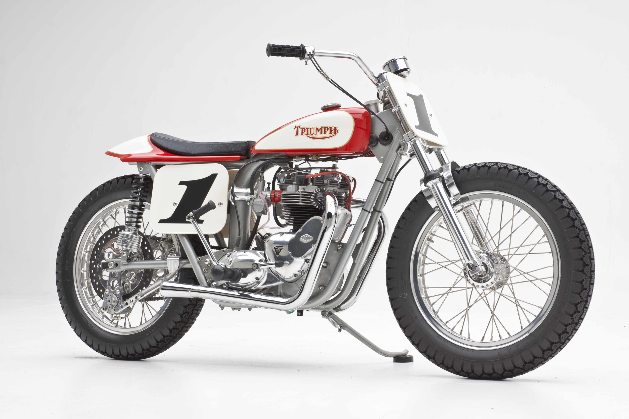 74' Triumph Dirt Tracker