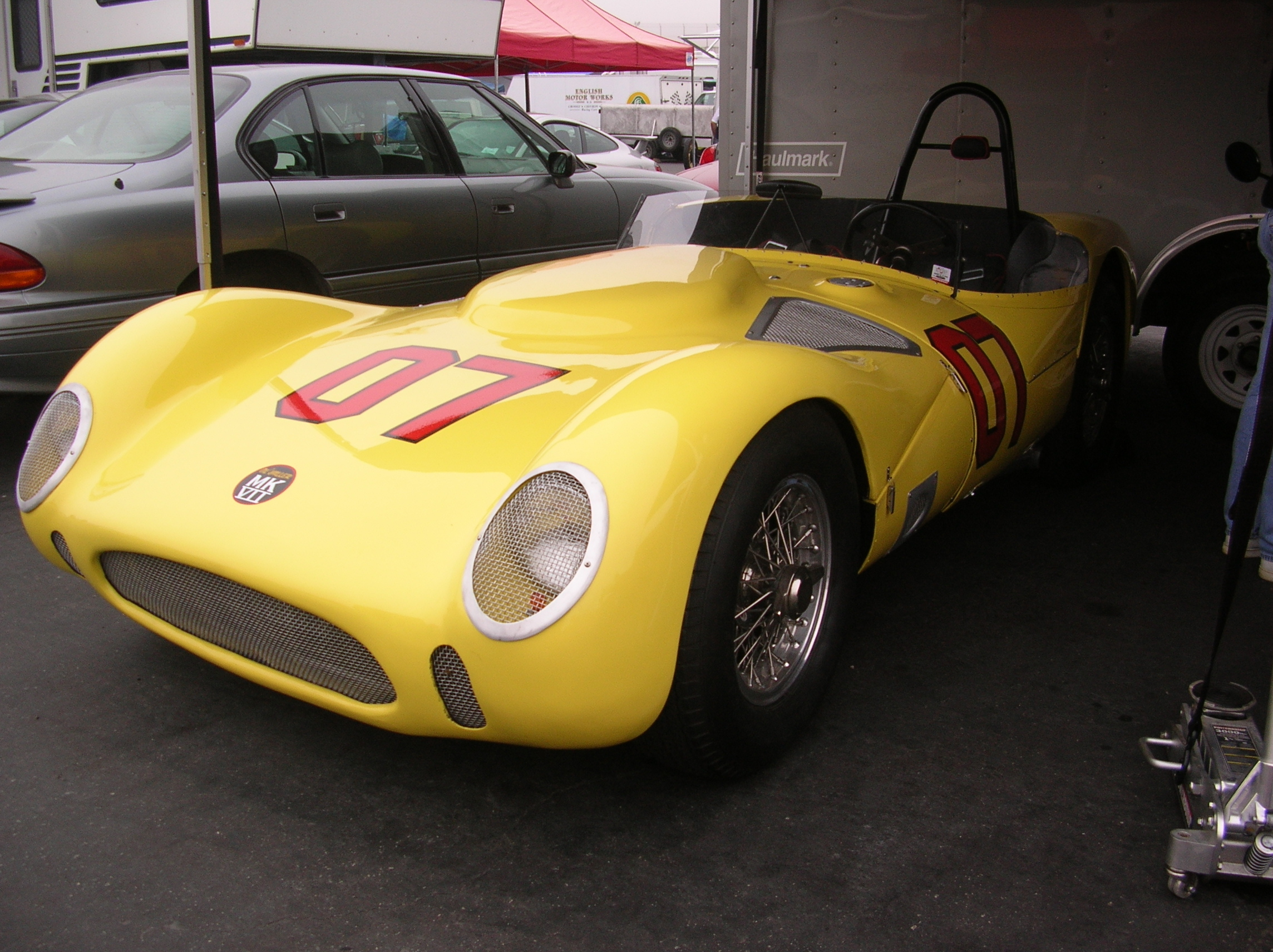 #7 at the Monterey Historics