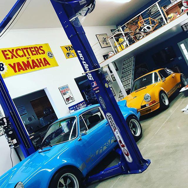 Eye candy for the garage today thanks to @flyin.hawaiin and the many projects! @braidwheelsusa  #porsche911 #porschersr #vintageporsche #porscheiroc  @jeffpalhegyidesign