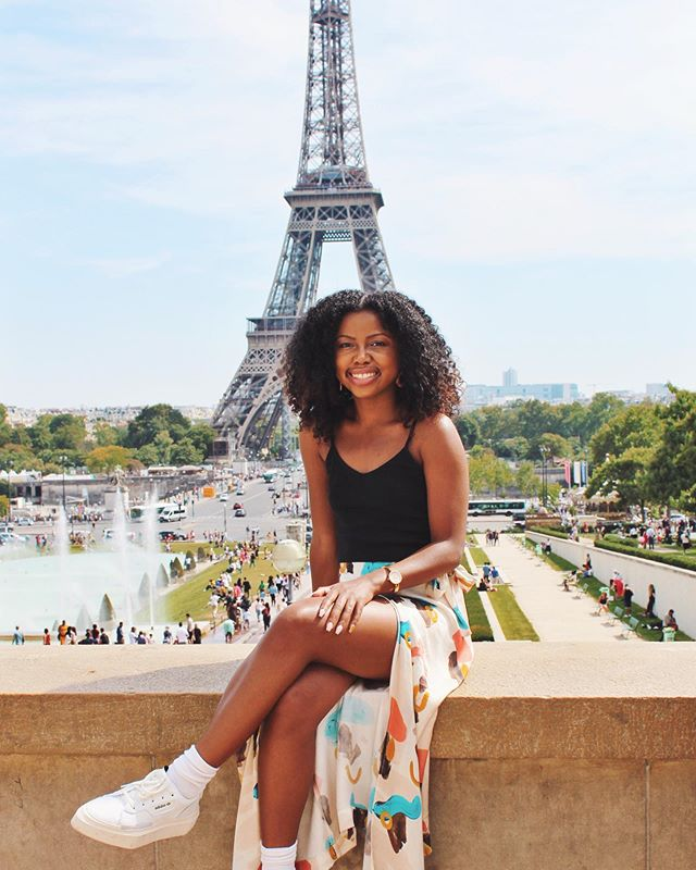 """My twelve-year-old self wrote my twenty-four year old self a note that said, """"you will be in Paris for your 24th birthday."""" So, I'm in Paris for my 24th birthday. 🇫🇷"""