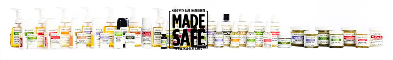 All of Kosmatology's products are Made Safe Certified