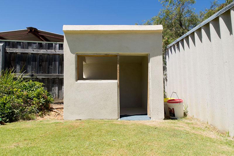 Hemp cubby house