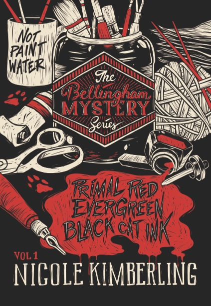 """Contains the novellas, """"Primal Red,"""" """"Evergreen,"""" and """"Black Cat Ink."""""""