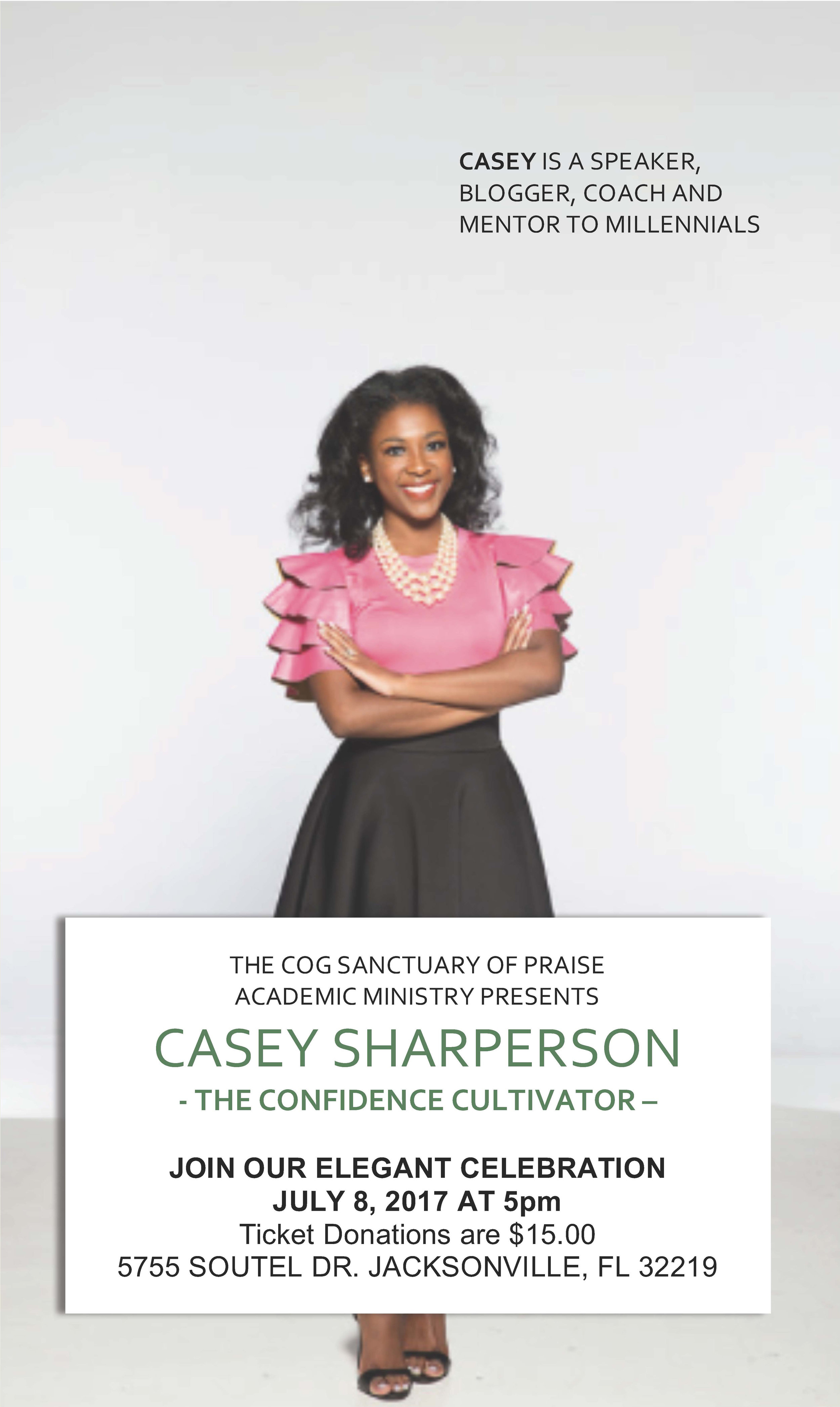Speaking Engagement - If you're in the Jacksonville area, I would love to see you!