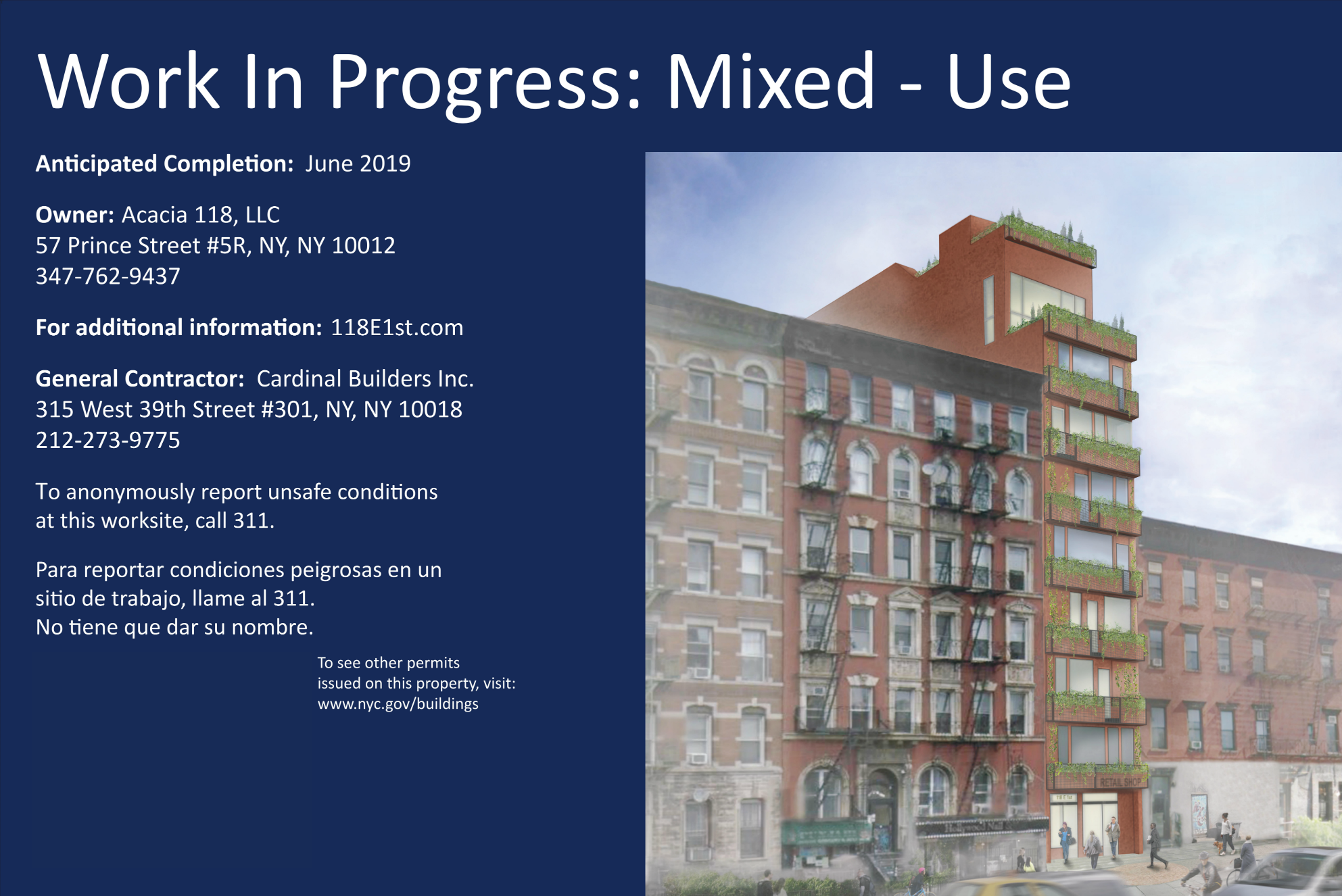 118E1st Project Info Panel.png