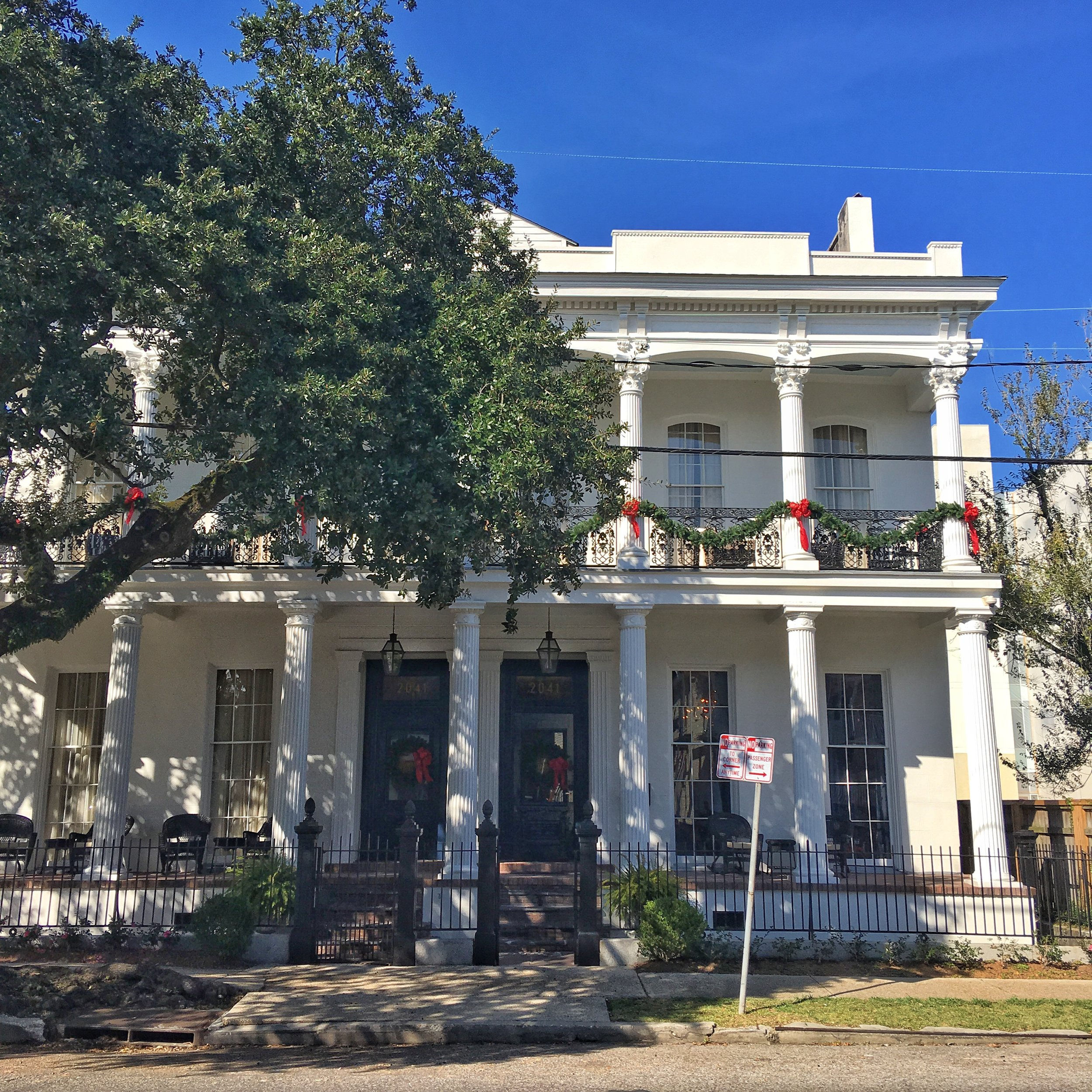 The Henry Howard Hotel in the Garden District.