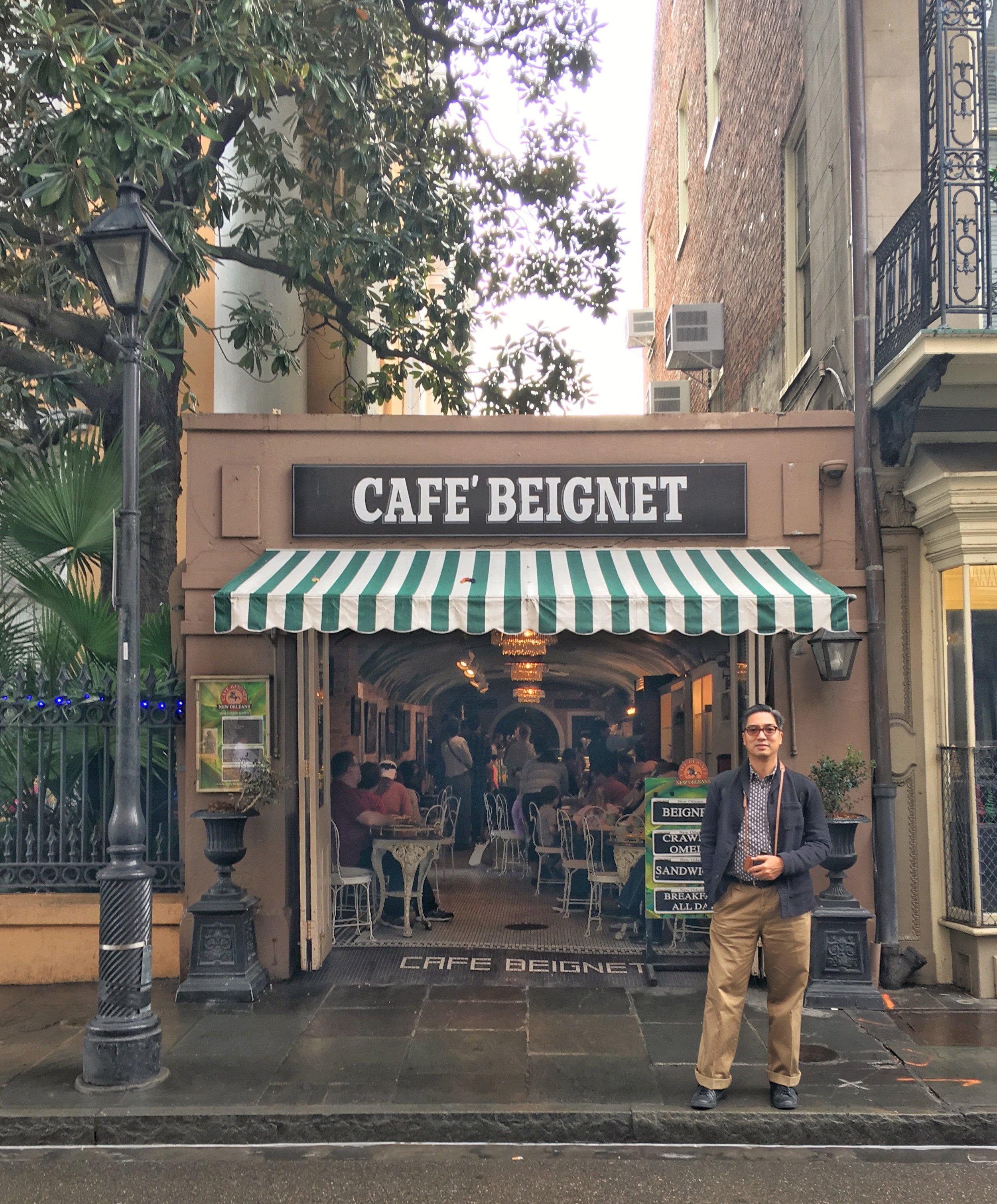 Come to Cafè Beignet instead and avoid the insane line at Cafè du Monde.