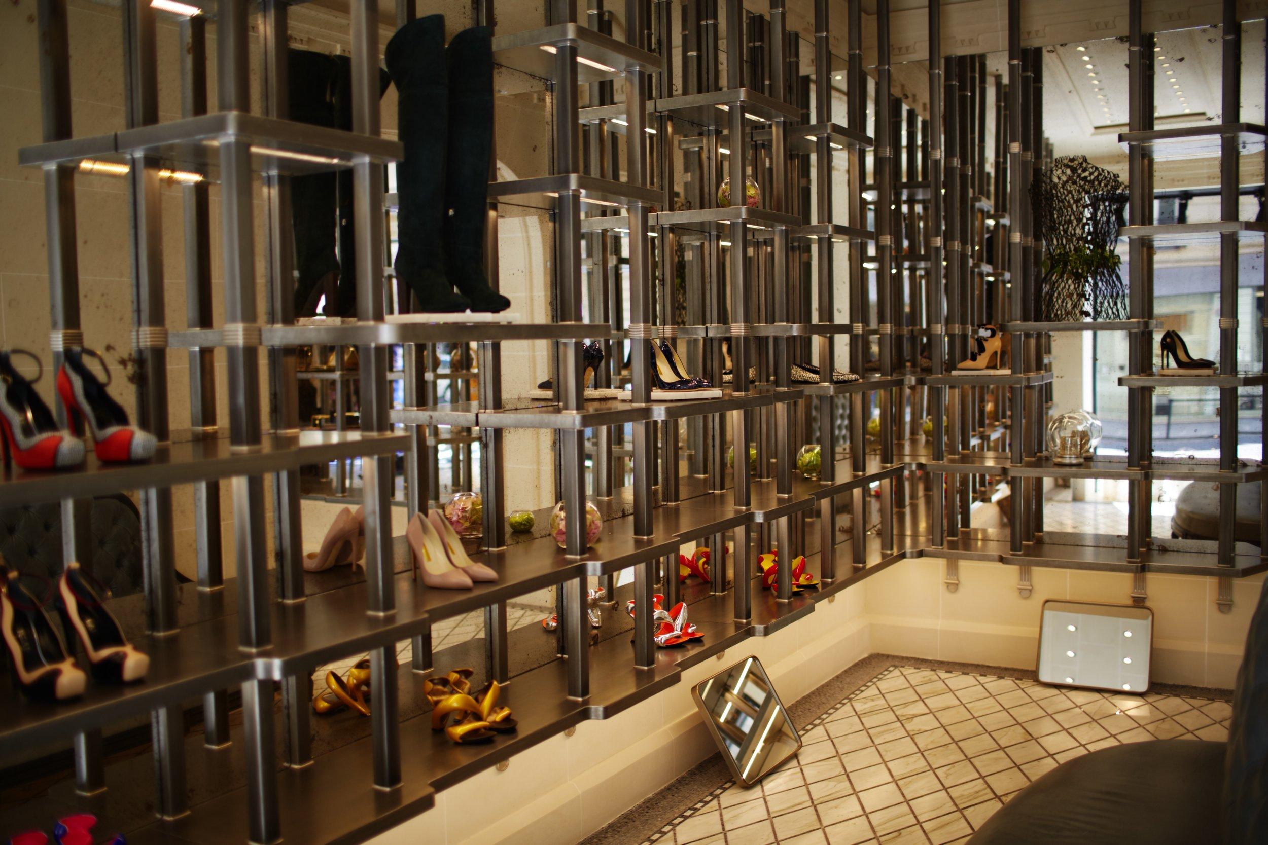 The Shoe Salon at Les Suites