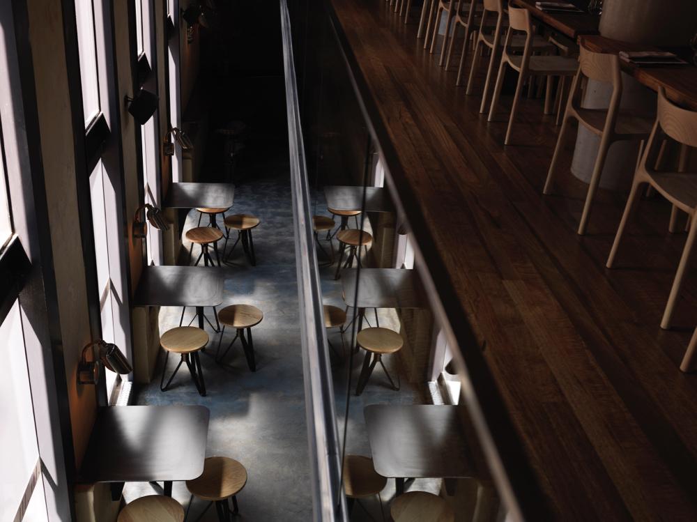 automata restaurant interiors