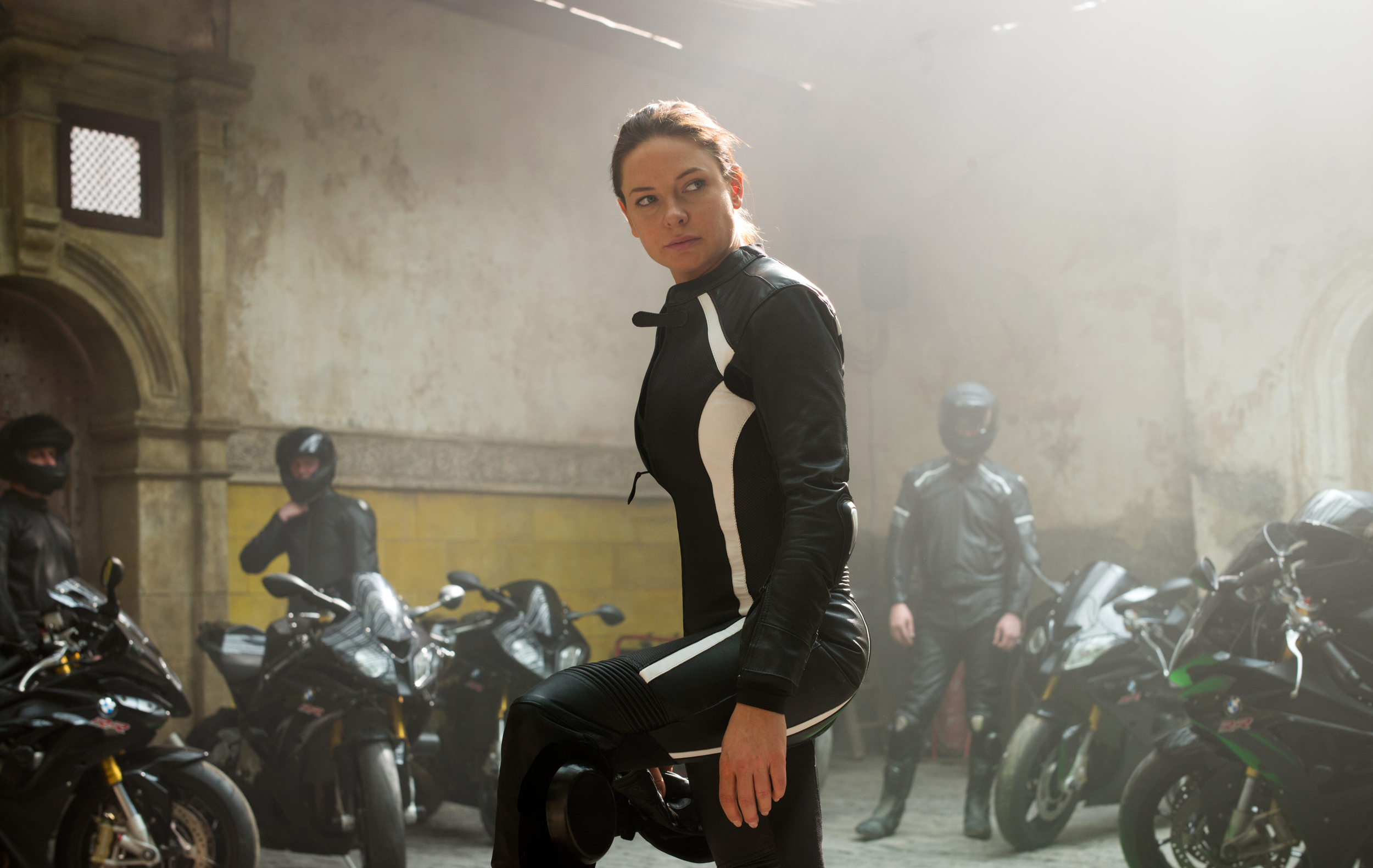 Rebecca Fergusson accomplishes the impossible and outshines Tom Cruise in the fifth entry in the  Mission: Impossible  series.