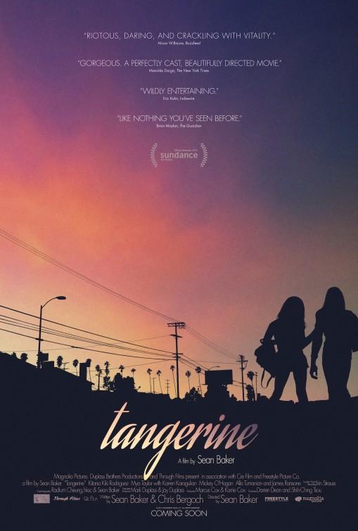 Tangerine 2015 poster