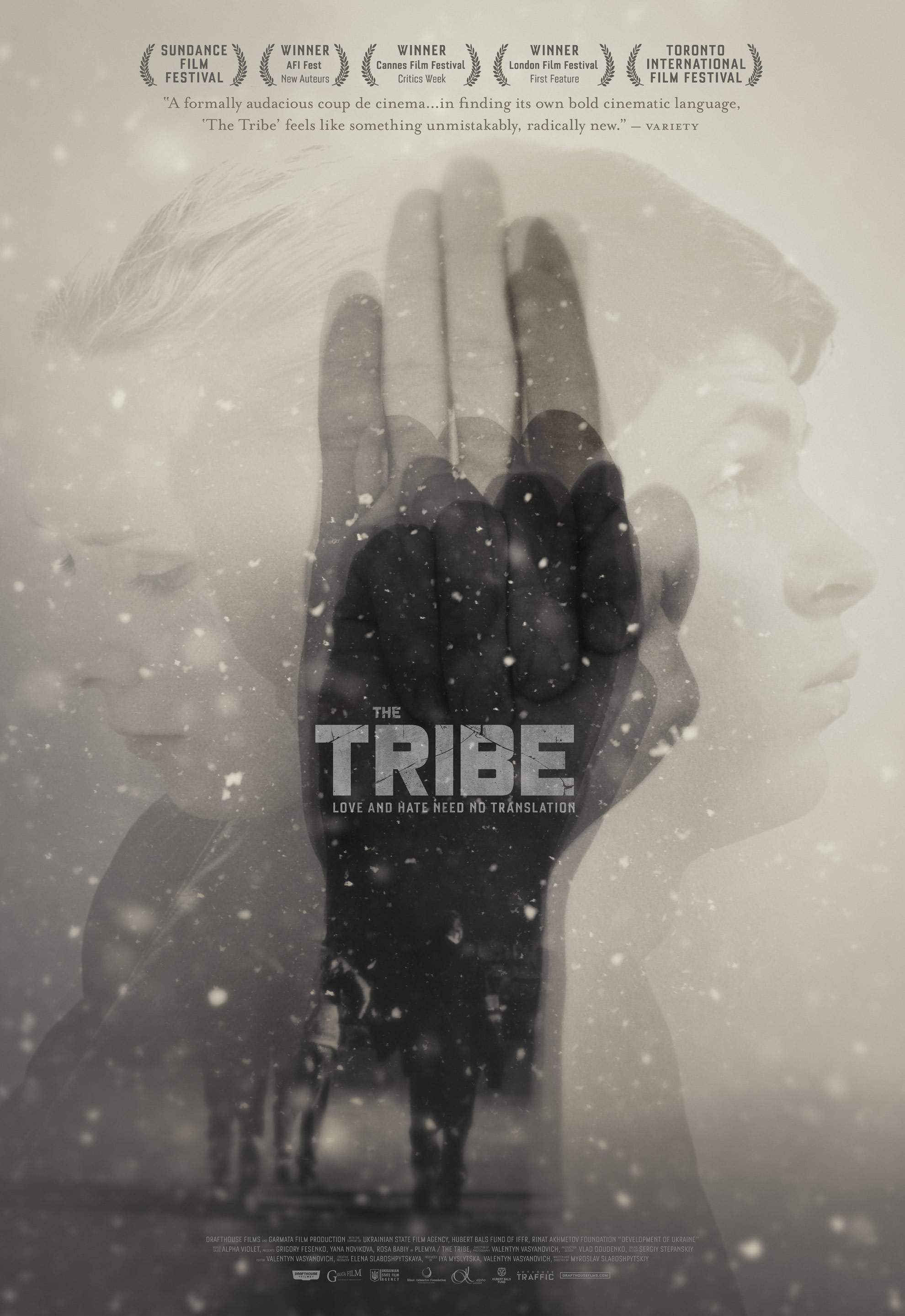 The Tribe 2014 poster