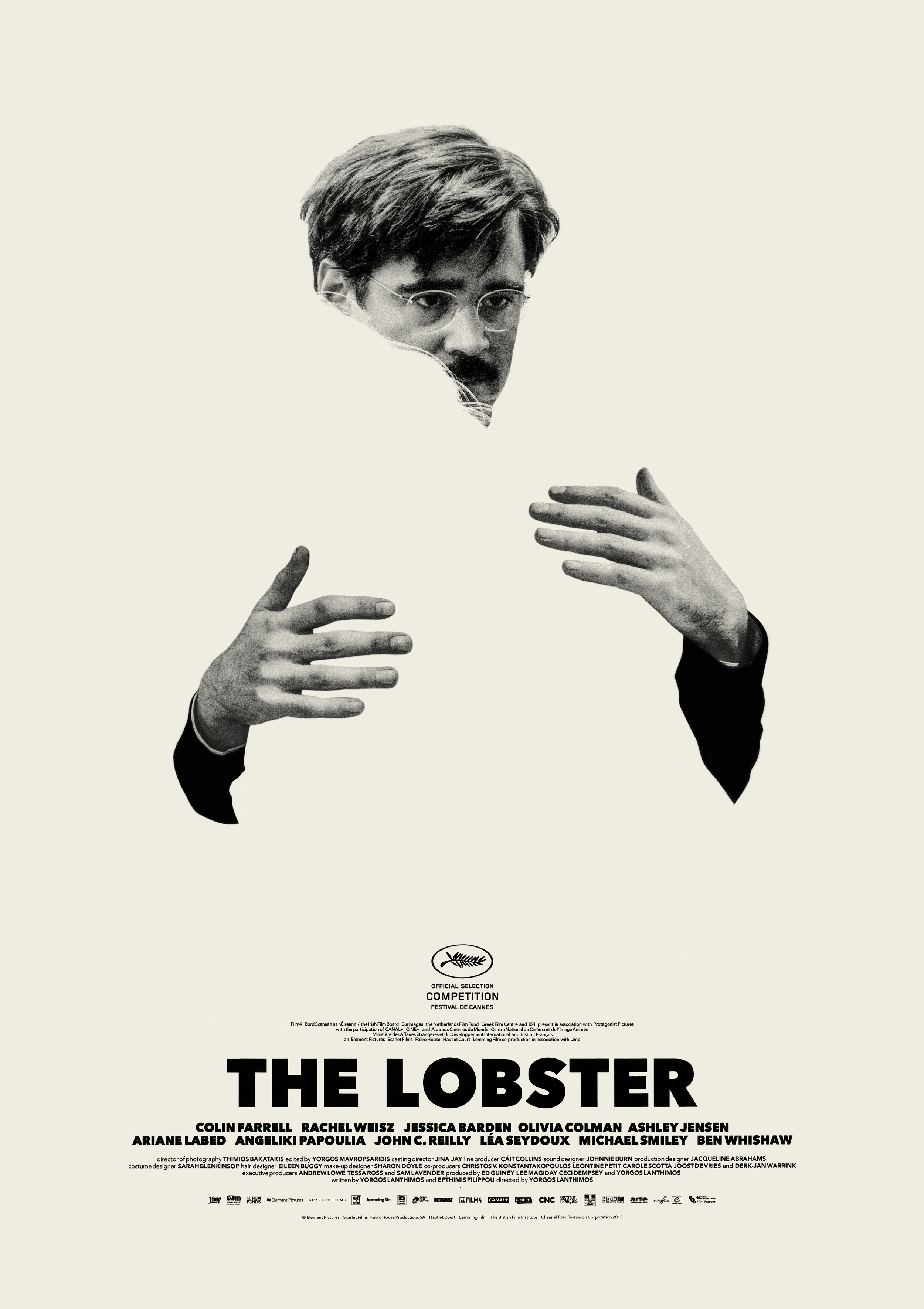 The Lobster 2015 poster Colin Farrell