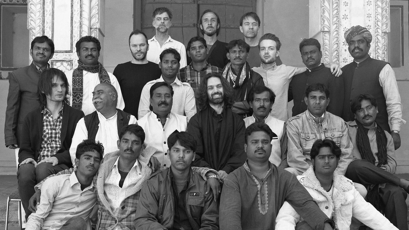 The crew behind the music and film of  Junun.
