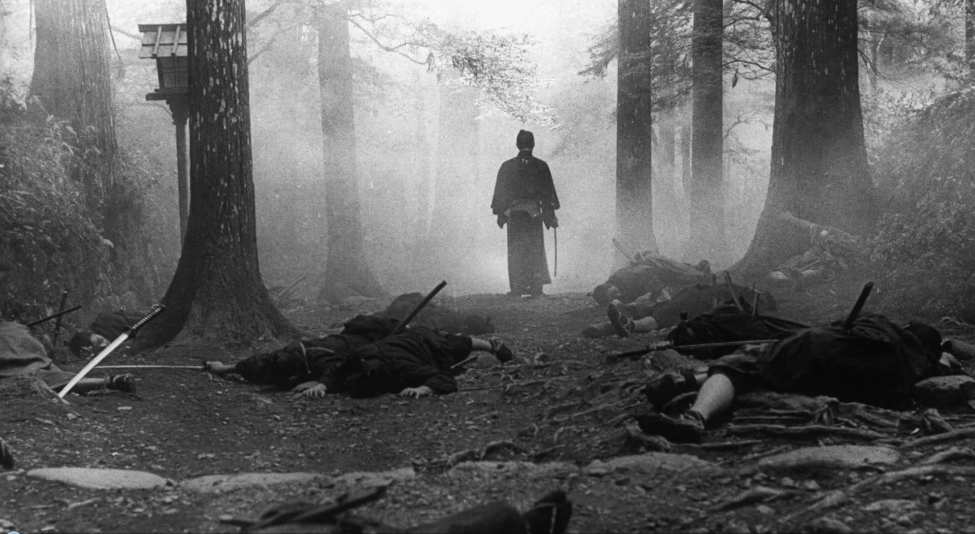 Tatsuya Nakadai is the psychotic badass at the centre of  Sword of Doom  (1966)