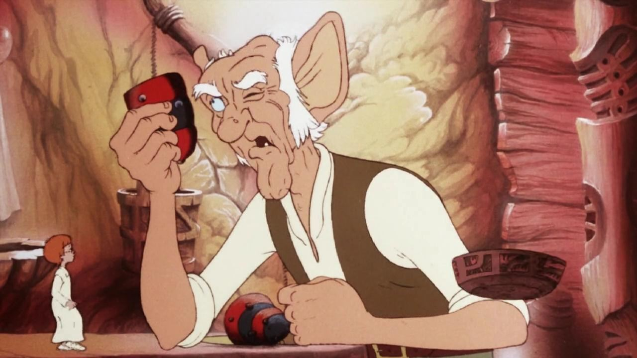 David Jason voices the BFG in Brian Cosgrove's animated adaptation from 1989.