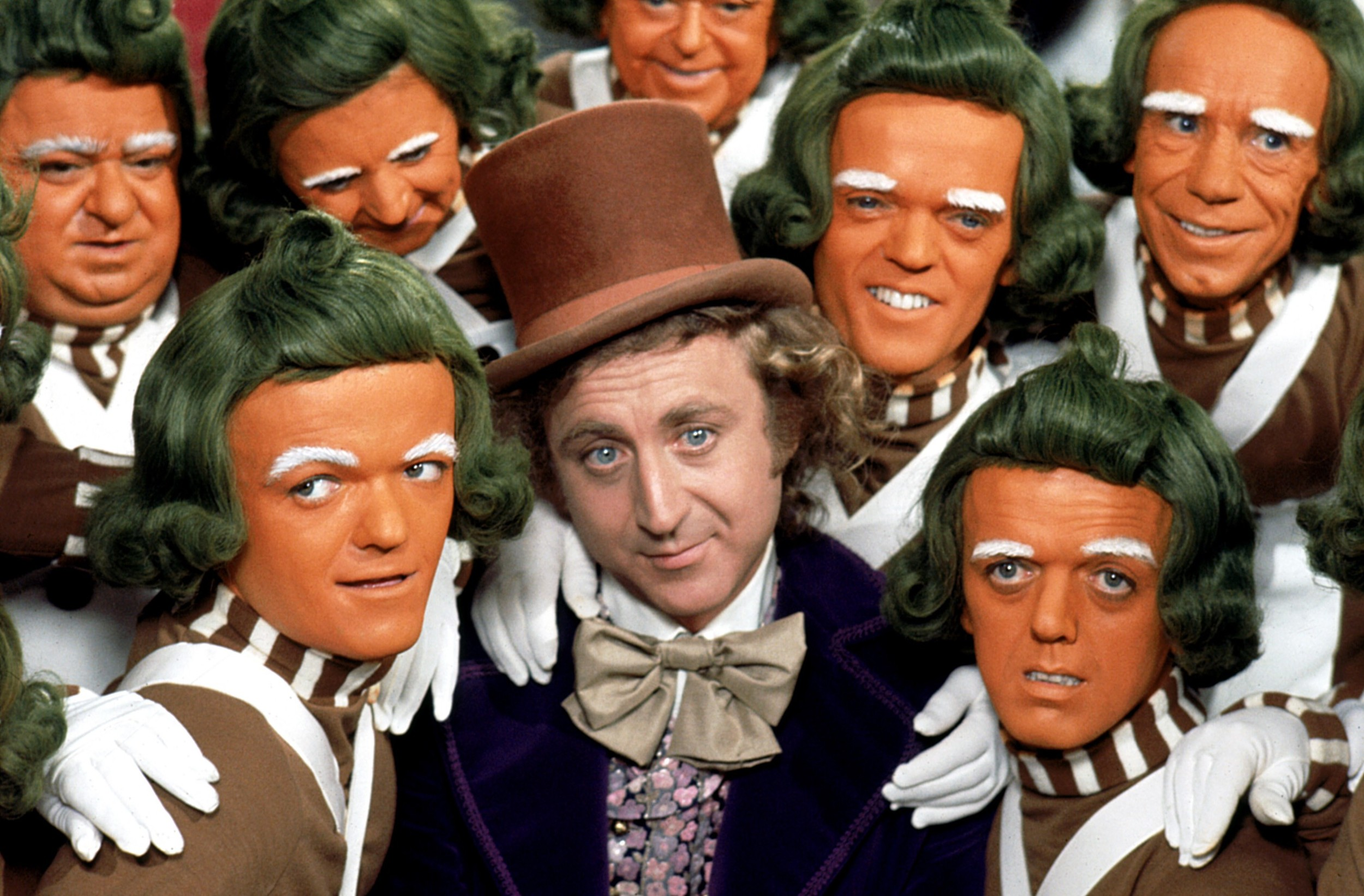 Gene Wilder immediately owned the character of Willy Wonka after the success of Mel Stuart's 1971 adaptation of 'Charlie & the Chocolate Factory', which was co-written for the screen by Roald Dahl.