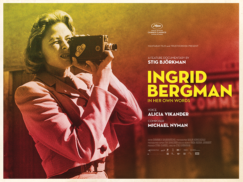 Ingrid Bergman in her own words 2015 poster