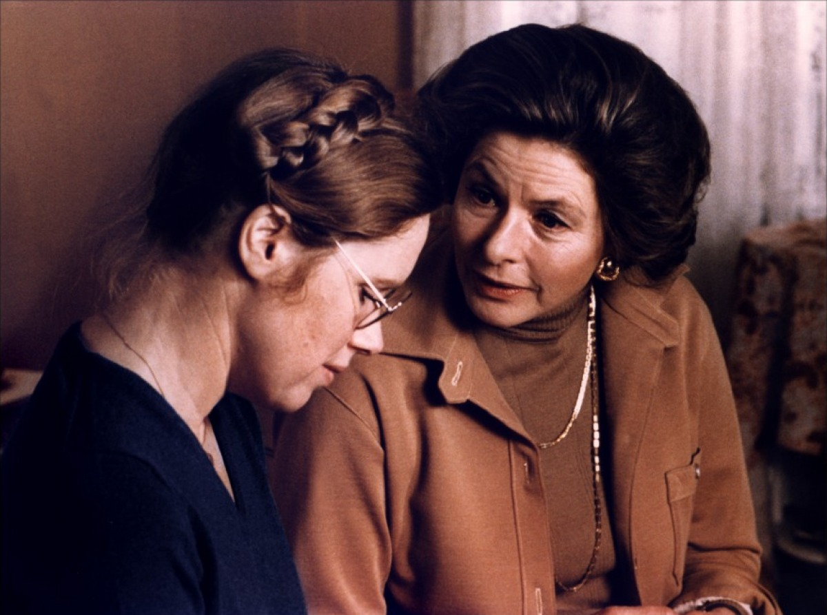 Liv Ullmann plays the neglected daughter of Ingrid Bergman's famous concert pianist in  Autumn Sonata  ( Höstsonaten,  1978).