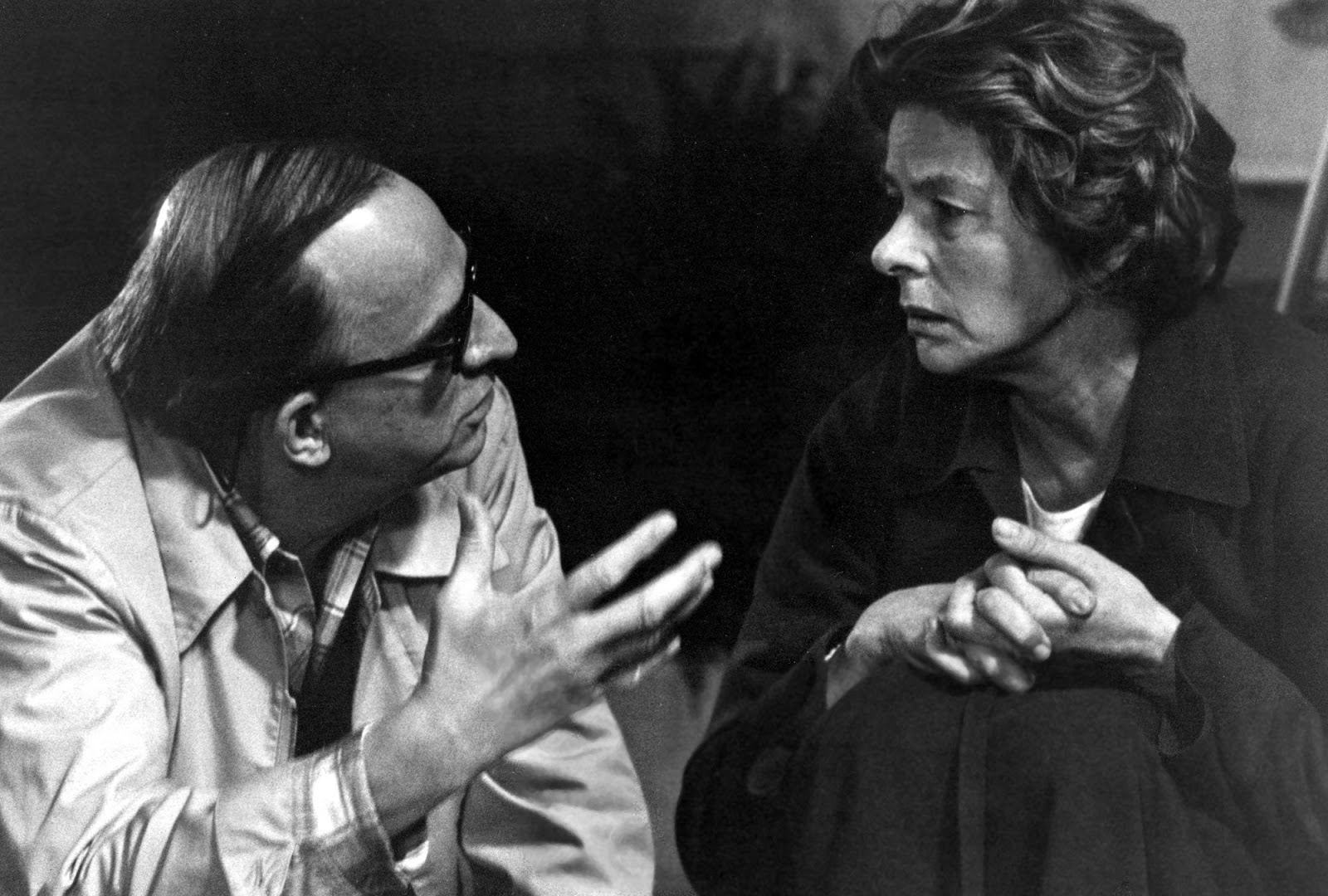 Ingmar Bergman directs Ingrid on the set of  Autumn Sonata . When Ingrid met Ingmar at Cannes a few years earlier, she reportedly slipped a note into his pocket, telling him that she wanted to work with him.