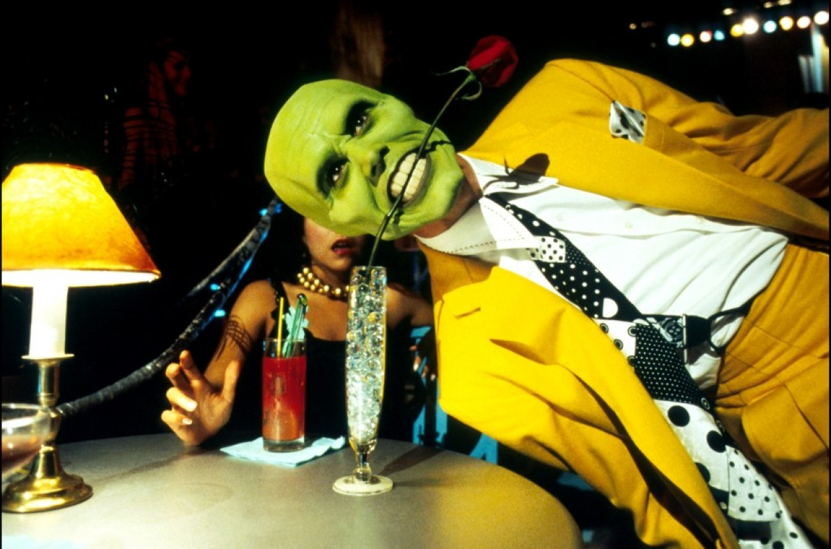 The id unleashed: Jim Carrey in  The Mask .