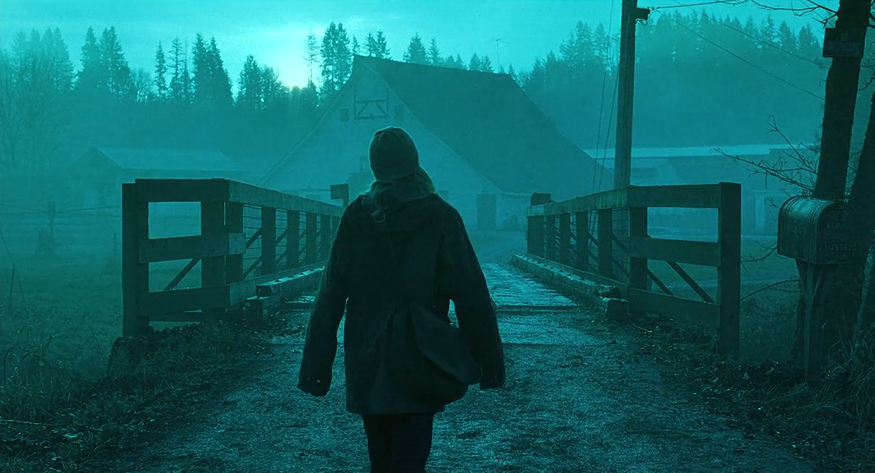 Naomi Watts negotiates the green-and-teal world of Gore Verbinski's highly stylised remake,  The Ring.