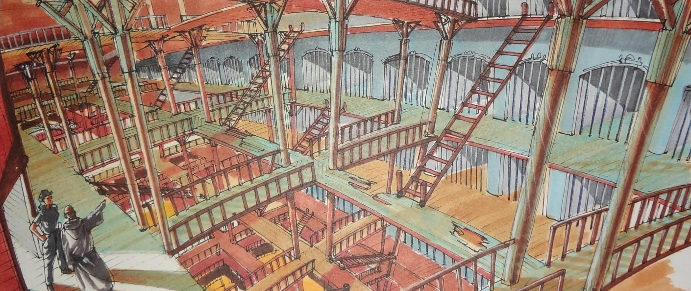 One of Vincet Ward's conceptual designs for the wooden planet, where  Alien 3  was going to take place before Ward left the project.